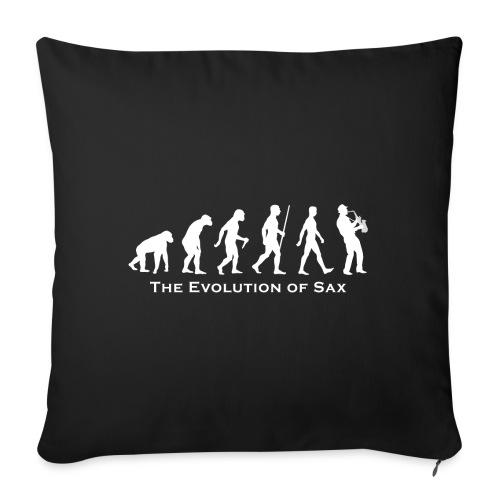 The Evolution Of Sax - Cojín de sofá con relleno 44 x 44 cm