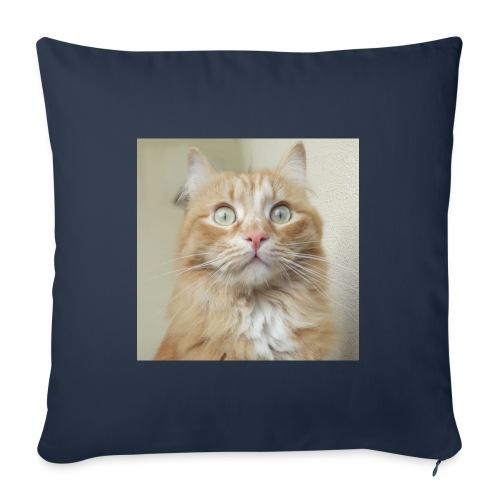 Gatto Ninni - Cuscino da divano 44 x 44 cm con riempimento