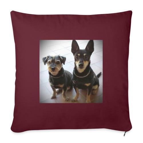 Cani - Cuscino da divano 44 x 44 cm con riempimento