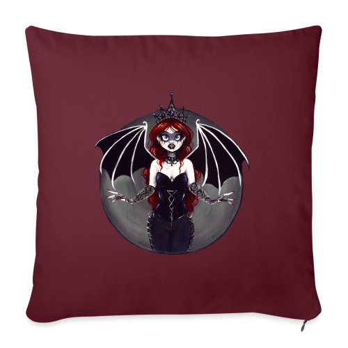 E. R. Whittingham Artwork for World Gothic Models - Sofa pillow with filling 45cm x 45cm