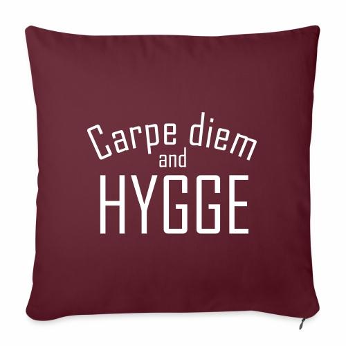 HYGGE Carpe diem - Sofakissen mit Füllung 44 x 44 cm