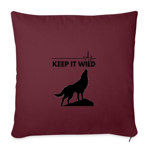 Keep it wild - Sofakissen mit Füllung 44 x 44 cm