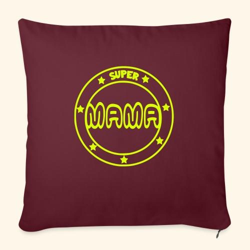 Super mama 001 - Bankkussen met vulling 44 x 44 cm