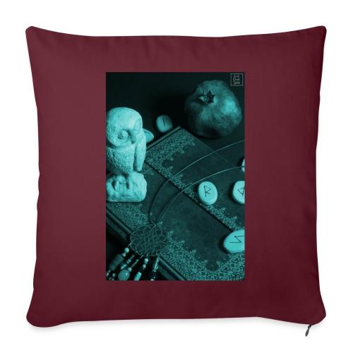 La Civetta della Sapienza - Cuscino da divano 44 x 44 cm con riempimento