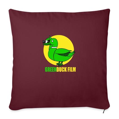Greenduck Film In the Sun Logo - Sofapude med fyld 44 x 44 cm