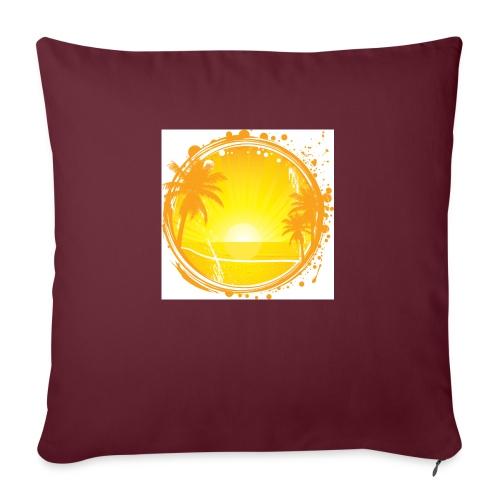 Sunburn - Sofa pillow with filling 45cm x 45cm