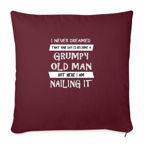 Grumpy 2 - Sofapude med fyld 44 x 44 cm