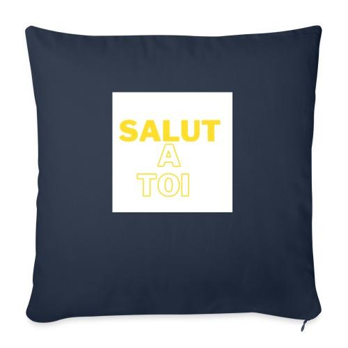 salut - Coussin et housse de 45 x 45 cm