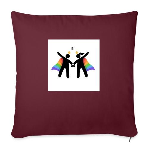 LGBT BI - Sofapude med fyld 44 x 44 cm