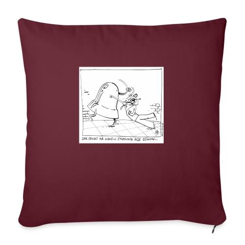 dzwon - Poduszka na kanapę z wkładem 44 x 44 cm