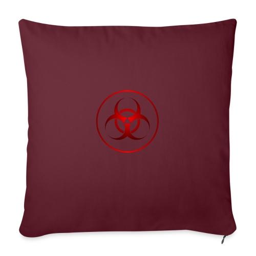 biohazard - Cojín de sofá con relleno 44 x 44 cm