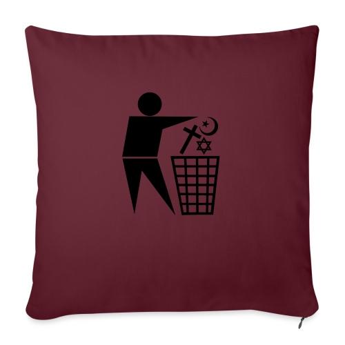 Anti Religion # 1 - Sofa pillow with filling 45cm x 45cm