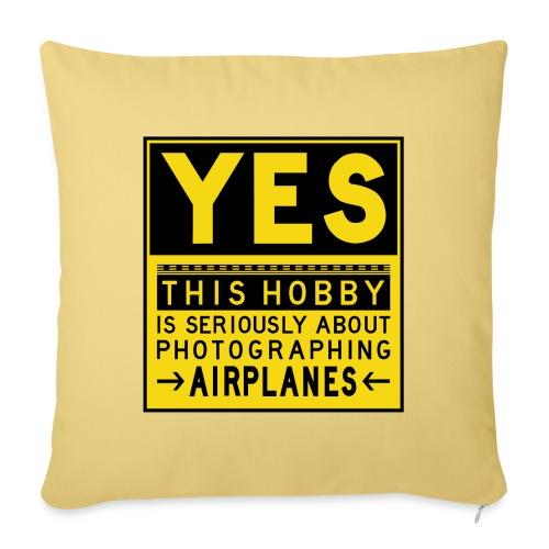 O co chodzi w planowaniu - znak fartucha - Poduszka na kanapę z wkładem 44 x 44 cm