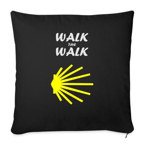 Walk the Walk - Camino de Santiago - Sofapude med fyld 44 x 44 cm