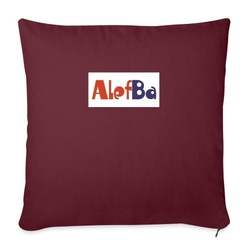 alefba - Sofapude med fyld 44 x 44 cm