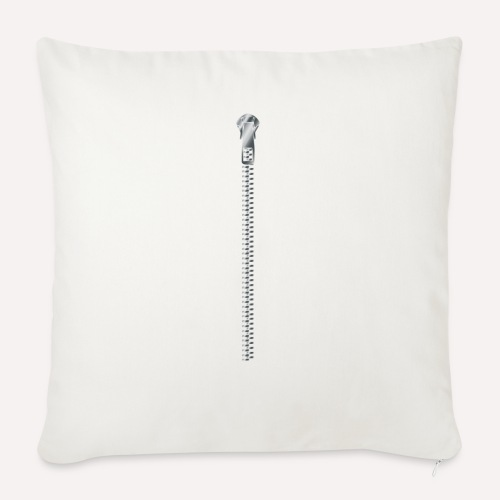 Zipper Funny Surprising T-shirt, Hoodie,Cap Print - Sofa pillow with filling 45cm x 45cm