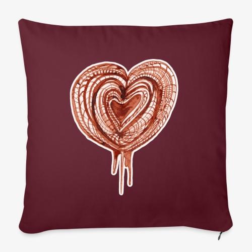 muscular pump transp - Sofa pillow with filling 45cm x 45cm