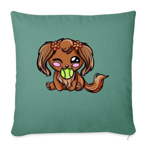 Puppy Dog Kawaii - Coussin et housse de 45 x 45 cm