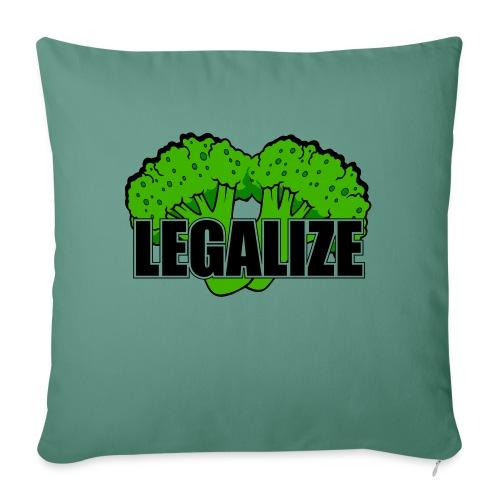 Legalize - Sofakissen mit Füllung 44 x 44 cm