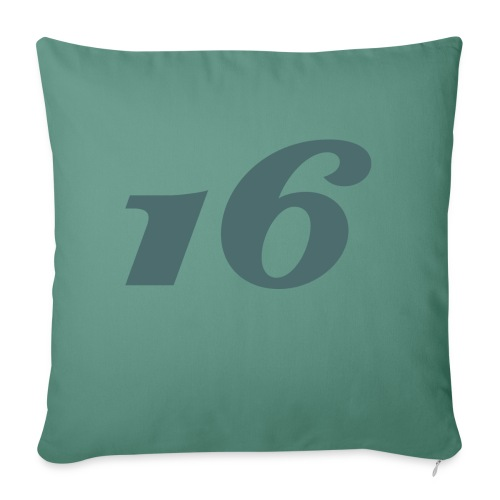 16 - Sofa pillow with filling 45cm x 45cm