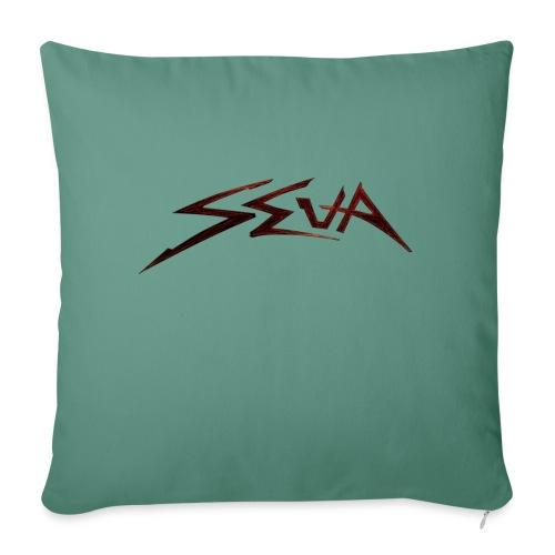 SEUA logo Speedy original design - Soffkudde med stoppning 44 x 44 cm