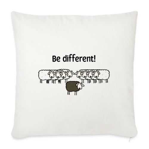 Be different - Sofakissen mit Füllung 44 x 44 cm