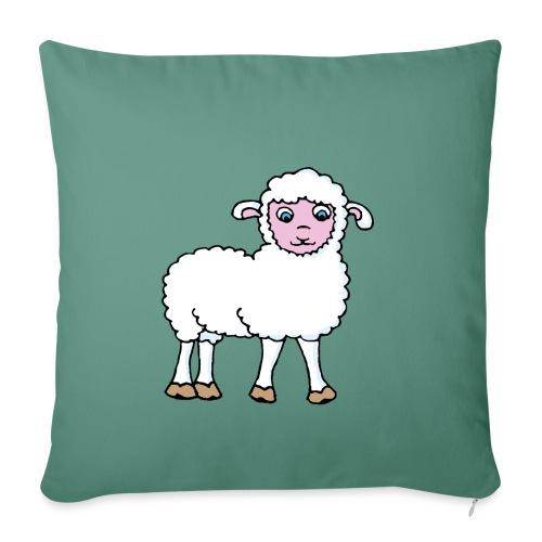 Minos le petit agneau - Coussin et housse de 45 x 45 cm