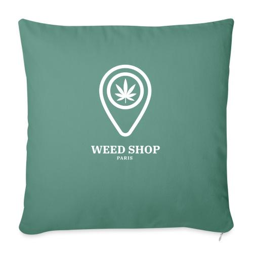 420 shop weed paris - Coussin et housse de 45 x 45 cm