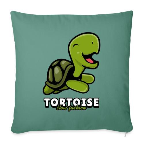 Tortoise slow fashion - Sofakissen mit Füllung 44 x 44 cm