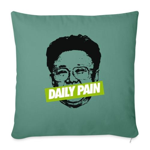 daily pain cho - Poduszka na kanapę z wkładem 44 x 44 cm