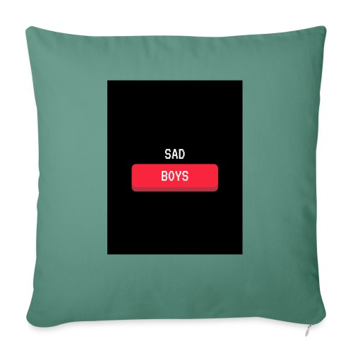 Sad Boys Video Game Pop Culture T - shirt - Cojín de sofá con relleno 44 x 44 cm