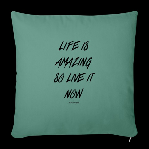 Life is amazing Samsung Case - Sofa pillow with filling 45cm x 45cm