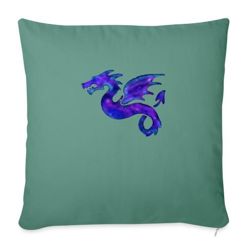 Drago - Cuscino da divano 44 x 44 cm con riempimento