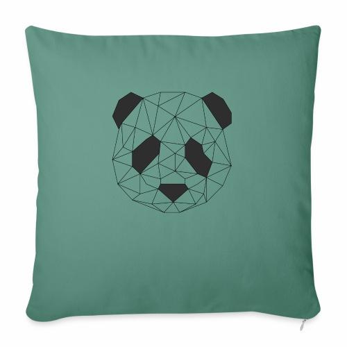 panda - Coussin et housse de 45 x 45 cm