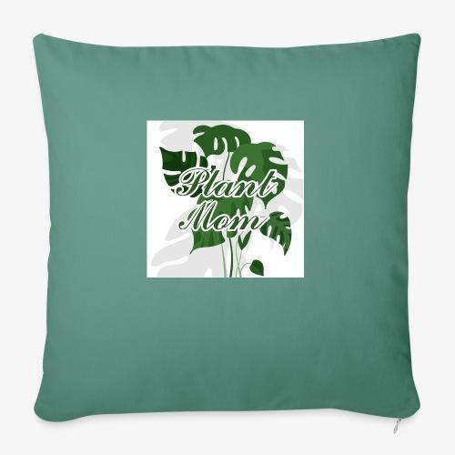Plant Mom - Poduszka na kanapę z wkładem 44 x 44 cm