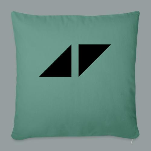 Avicci logo - Cojín de sofá con relleno 44 x 44 cm