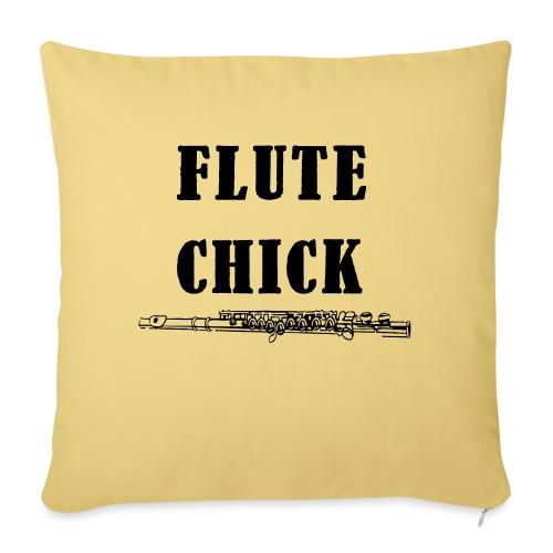 Flute Chick - Sofapute med fylling 44 x 44 cm