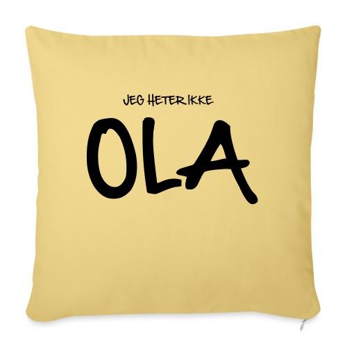 Jeg heter ikke Ola (fra Det norske plagg) - Sofapute med fylling 44 x 44 cm