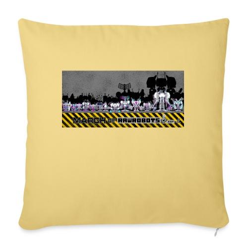 #MarchOfRobots ! LineUp Nr 2 - Sofapude med fyld 44 x 44 cm