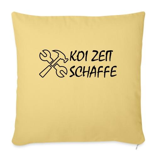 KoiZeit - Schaffe - Sofakissen mit Füllung 44 x 44 cm