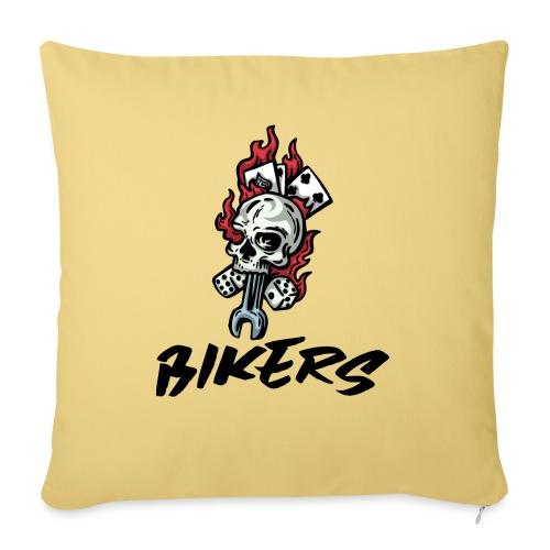 bikers 66 - Coussin et housse de 45 x 45 cm