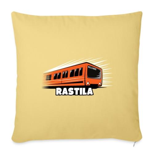 RASTILA Helsingin metro t-paidat, vaatteet, lahjat - Sohvatyynyt täytteellä 44 x 44 cm