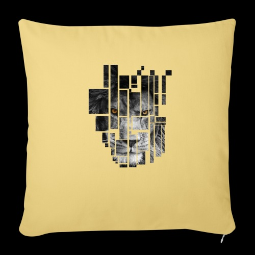 Pixel Lion Tattoo Inspire - Sofa pillow with filling 45cm x 45cm
