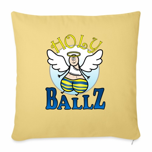 Holy Ballz Charlie - Sofa pillow with filling 45cm x 45cm