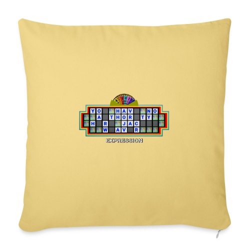 Jackie Weaver Wheel of Fortune - Sofa pillow with filling 45cm x 45cm