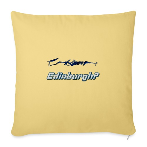 Edinburgh? - Sofa pillow with filling 45cm x 45cm