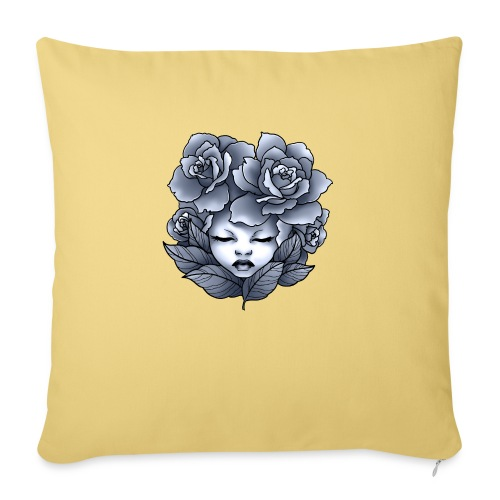 Flower Head - Coussin et housse de 45 x 45 cm