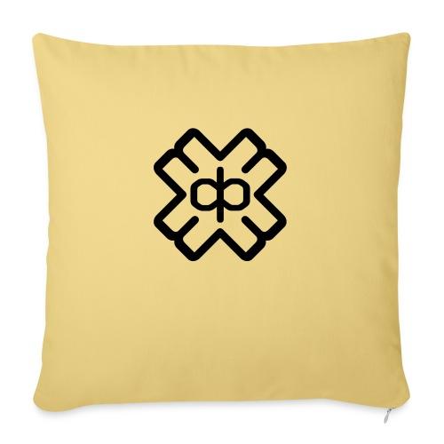 d3ep logo black png - Sofa pillow with filling 45cm x 45cm