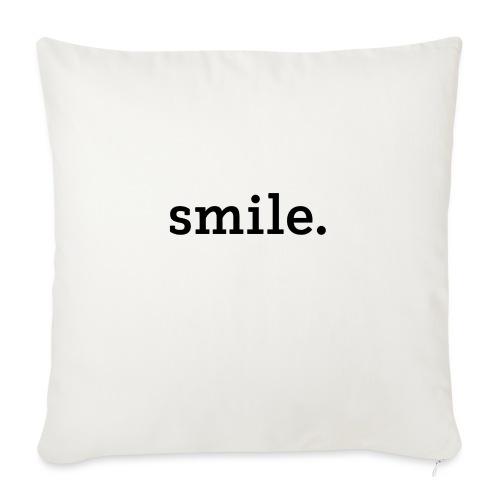 smile. - Sohvatyynyt täytteellä 44 x 44 cm