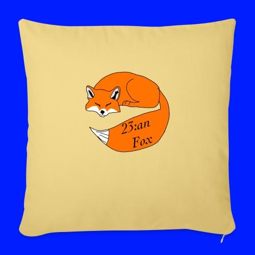 Sleeping Fox - Soffkudde med stoppning 44 x 44 cm
